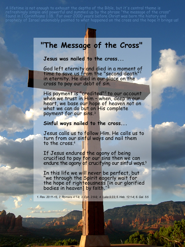 Messages of the Cross of Jesus Christ